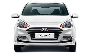 2017 Hyundai Xcent Facelift front view