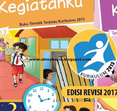 Buku Kurikulum 2013 Kelas 1 SD Tema 1 2 3 4 Edusu Revisi Tahun 2017