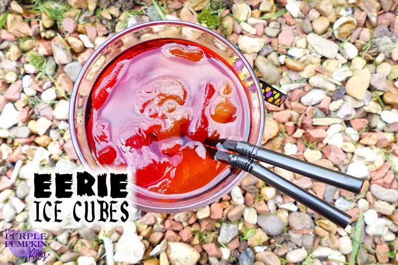 Eerie Ice Cubes for #Halloween #CraftyOctober