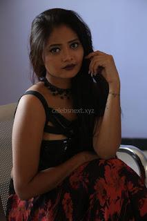 Shriya Vyas in a Tight Backless Sleeveless Crop top and Skirt 118.JPG
