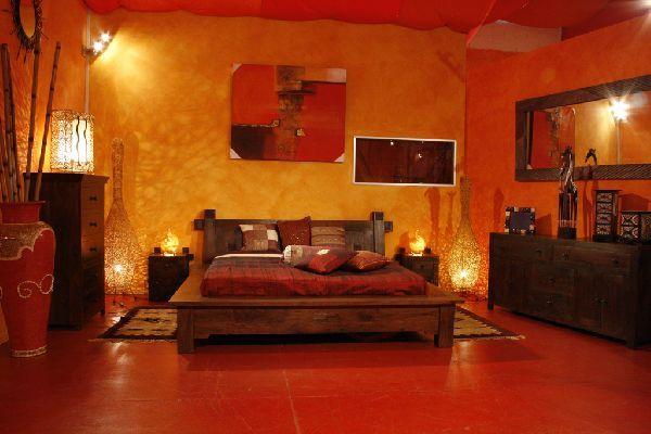 Habitaciones tnicas Dormitorios colores y estilos