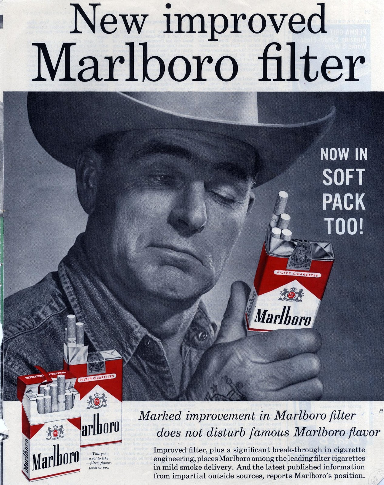 956eccd0fe9 Labels: cigarettes, cowboys, discerning customer, Marlboro, pack shot,  smoke and pack