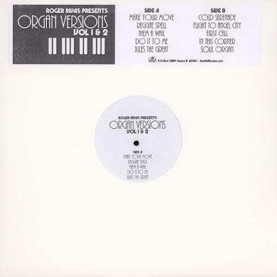 ROGER RIVAS - Presents Organ Versions Vol 1 & 2 (2016)