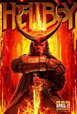 Poster Hellboy 2019 Dual Audio HD 720p