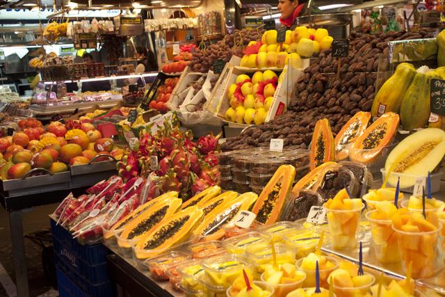 owoce Barcelona