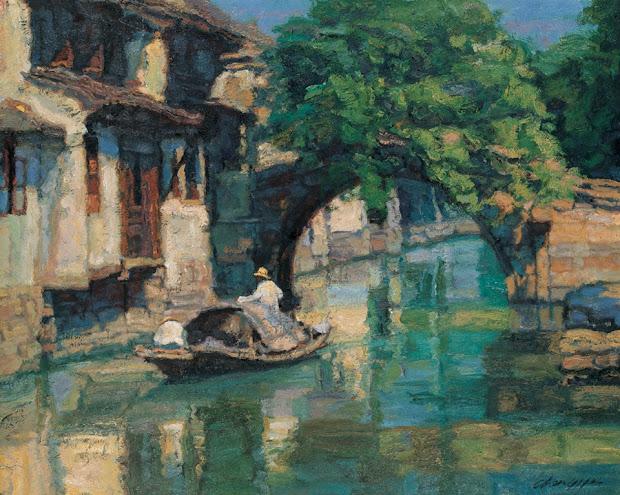 chen yifei chinese romantic realism