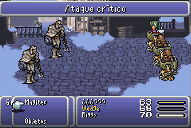Final Fantasy VI Advance - Captura 3
