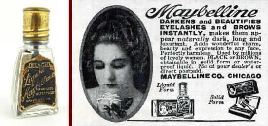 Maybelline liquid mascara 1925