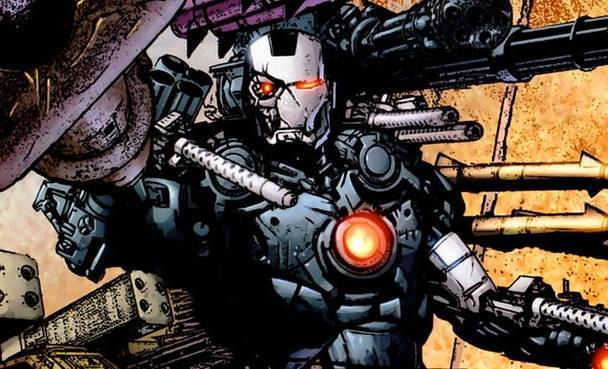war machine, sidekick iron man