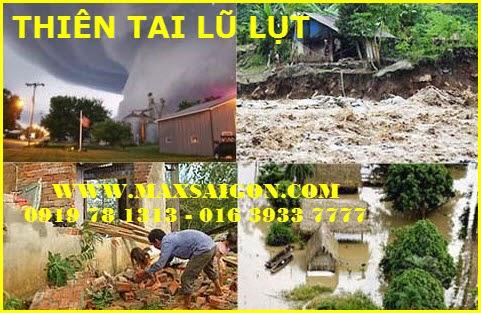 Thiên tai lũ lụt ngoài ý muốn của tất cả chúng ta