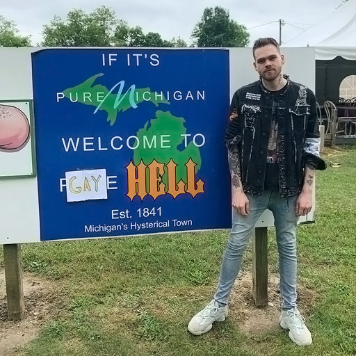 YouTube personality Elijah Daniel, in an act of rebellion against the Trump administration's ban on U.S. embassies flying the rainbow flag during Pride Month, decided to buy a town known as Hell, Michigan and renamed it 'Gay Hell.'