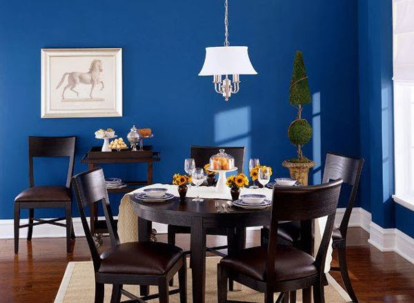 Blue Paint For Dining Room: Comedores Azules