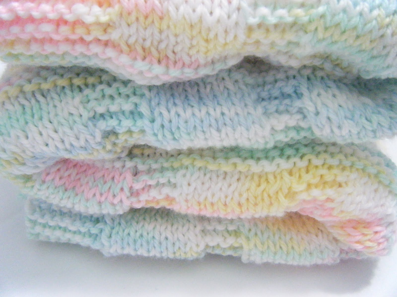Custom Knit Scarves and Beanies: HandKnit Baby Blanket