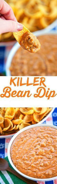 Killer Bean Dip