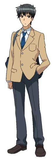 Mitsuhiro Ichiki como Takashi Komaba de la historia SNS Kyōdai