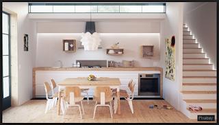 Desain interior adalah Ilmu yang mempelajari karya seni yang ada di dalam bangunan dan digunakan untuk memecahkan masalah manusia.  Salah satu bidang studi keilmuan yang didaarkan pada ilmu desain, bidang keilmuan ini untuk dapat memberikan lingkungan binaan (ruang dalam) bersama tidak-banyak pensupportnya, bagus jasmaniah atau nonfisik.  Jadi kwalitas kehidupan manusia yang berada di dalamnya menjadi lebih baik.  Perancangan interior ruang lingkup bangunan yang melingkupi komponen dalam bangunan.  Figur: Perancangan interior konsisten, bergerak, atau decoratif yang bersifat sementara.