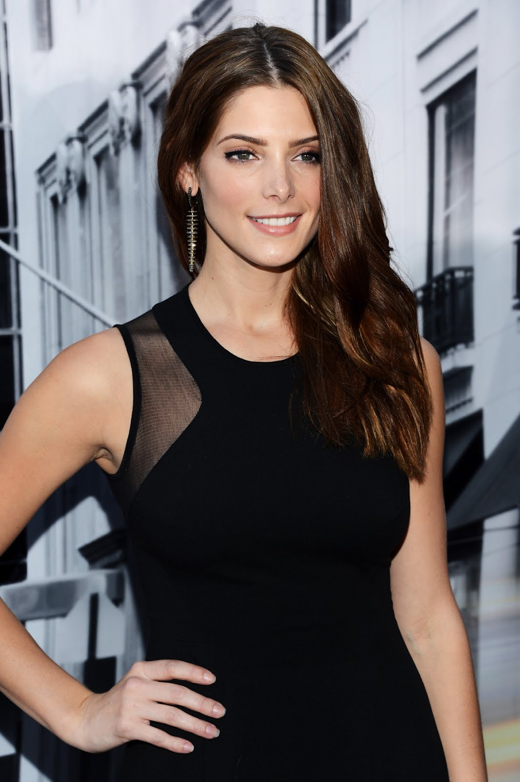 Ashley Greene DKNY Women's Spring 2013 Fashion Show ...