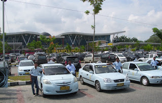 Moda angkutan bandara Sumatera