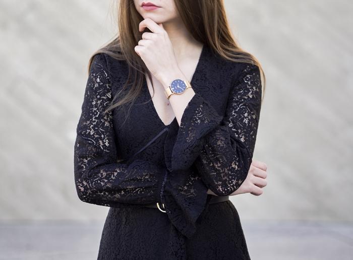 gdzie kupić czarną koronkową sukienkę