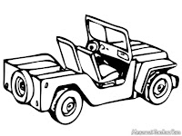 Jeep Coloring Pages For Kids Printable