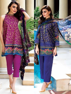 Alkaram Lawn Spring Summer Collection 2017 Vol-2