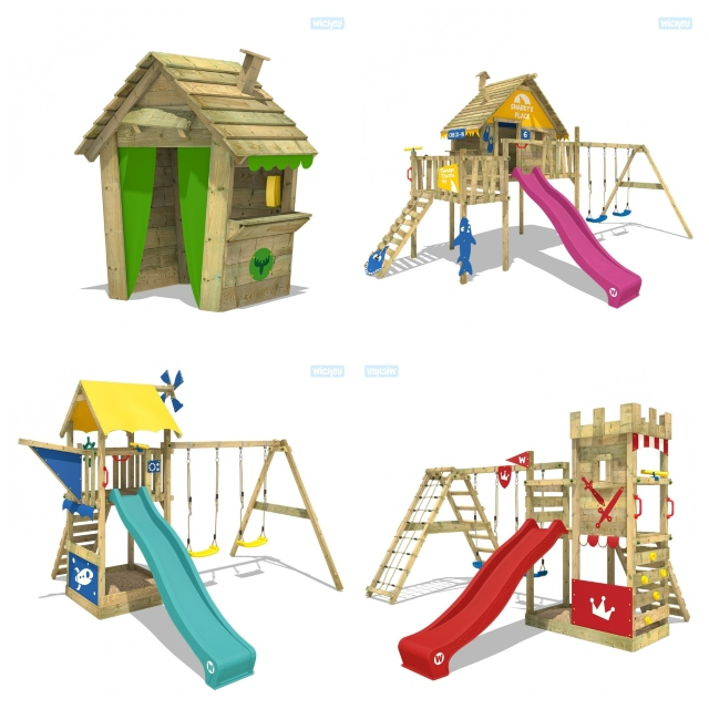 Wickey climbing frames