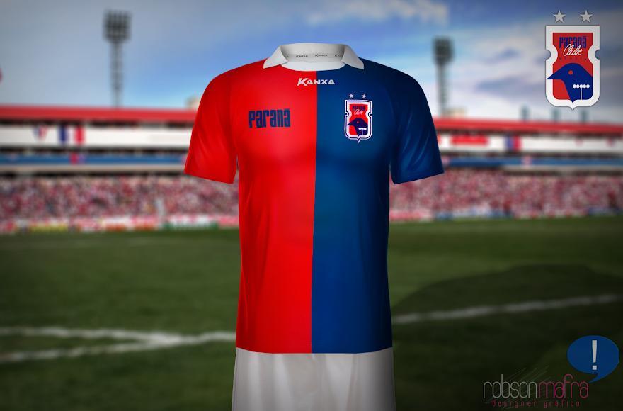 Paraná Clube 2013, Camisa Oficial I Kanxa, home