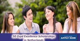 50 Zuyd Excellence Scholarships for International Students in the Netherlands