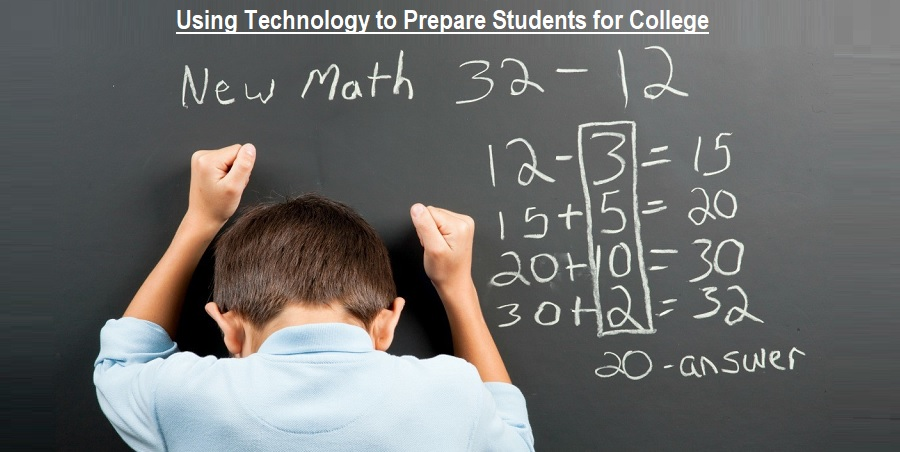 Using Technology to Prepare Students for College