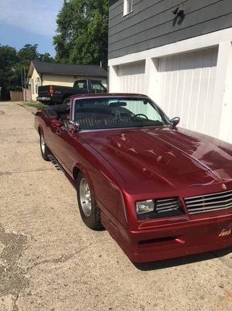 1983 to 1988 Chevrolet Monte Carlo For Sale