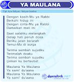 Lirik Lagu YA MAULANA by Sabyan