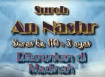 Surah An Nashr termasuk kedalam golongan surat Surat | Surah An Nashr Arab, Latin dan Terjemahannya