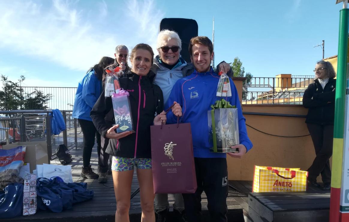 Yolanda Riera y Carlos Rodriguez vencedores de la Cursa de l'Amistat 2018