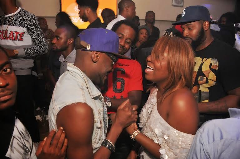 6 Photos: 2face, Wizkid, Sasha attend PREs 25th birthday party