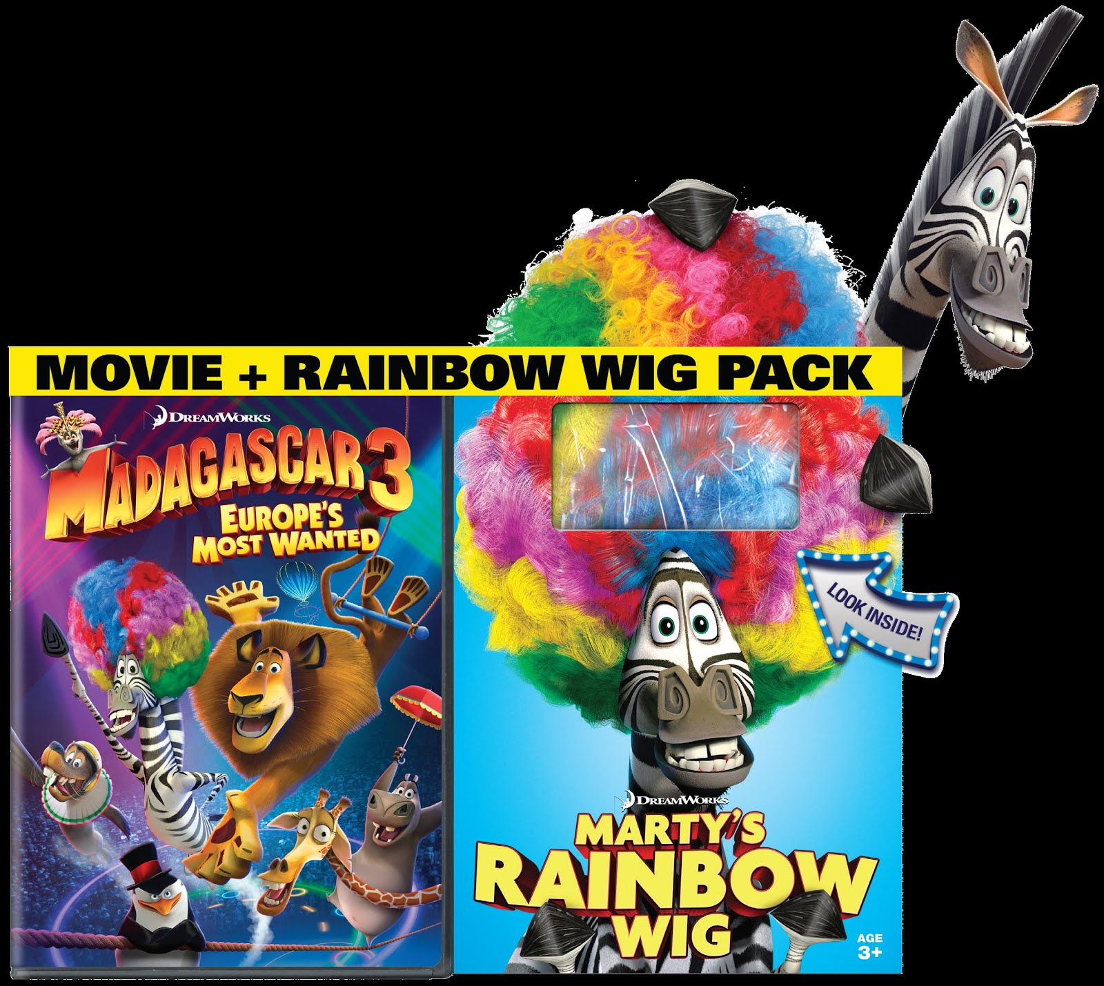 Marty Madagascar 3 Wig Out Related Keywords & Suggestions