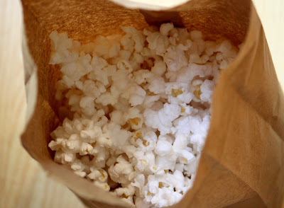 Brown Paper Bag Popcorn