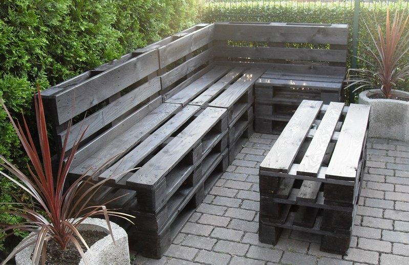 outdoor lounge mobel aus holz. Black Bedroom Furniture Sets. Home Design Ideas