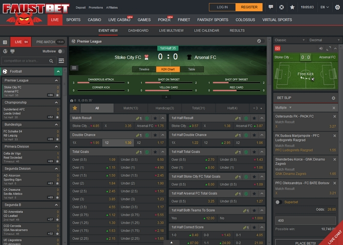 Faustbet Live