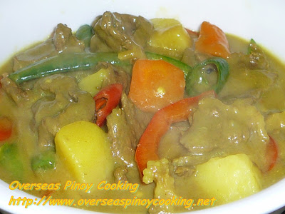 Pinoy Beef Curry