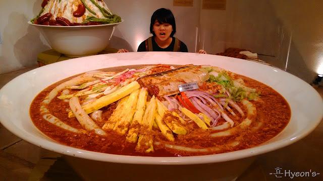 giant penang laksa wonderfood museum penang