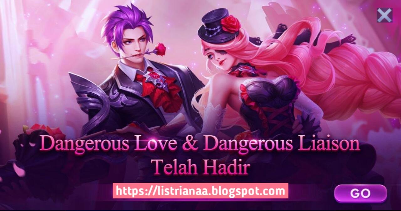 Tutorial Mendapatkan Skin Valentin Gusion Dangerous Love dan Lesley Dangerous Liaison Mobile Legends 2