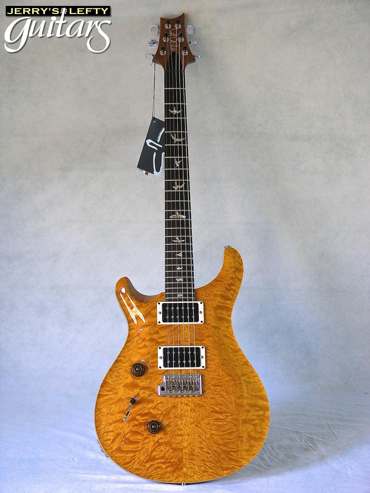 jerry 39 s lefty guitars newest guitar arrivals updated weekly prs custom 24 quilt santana. Black Bedroom Furniture Sets. Home Design Ideas