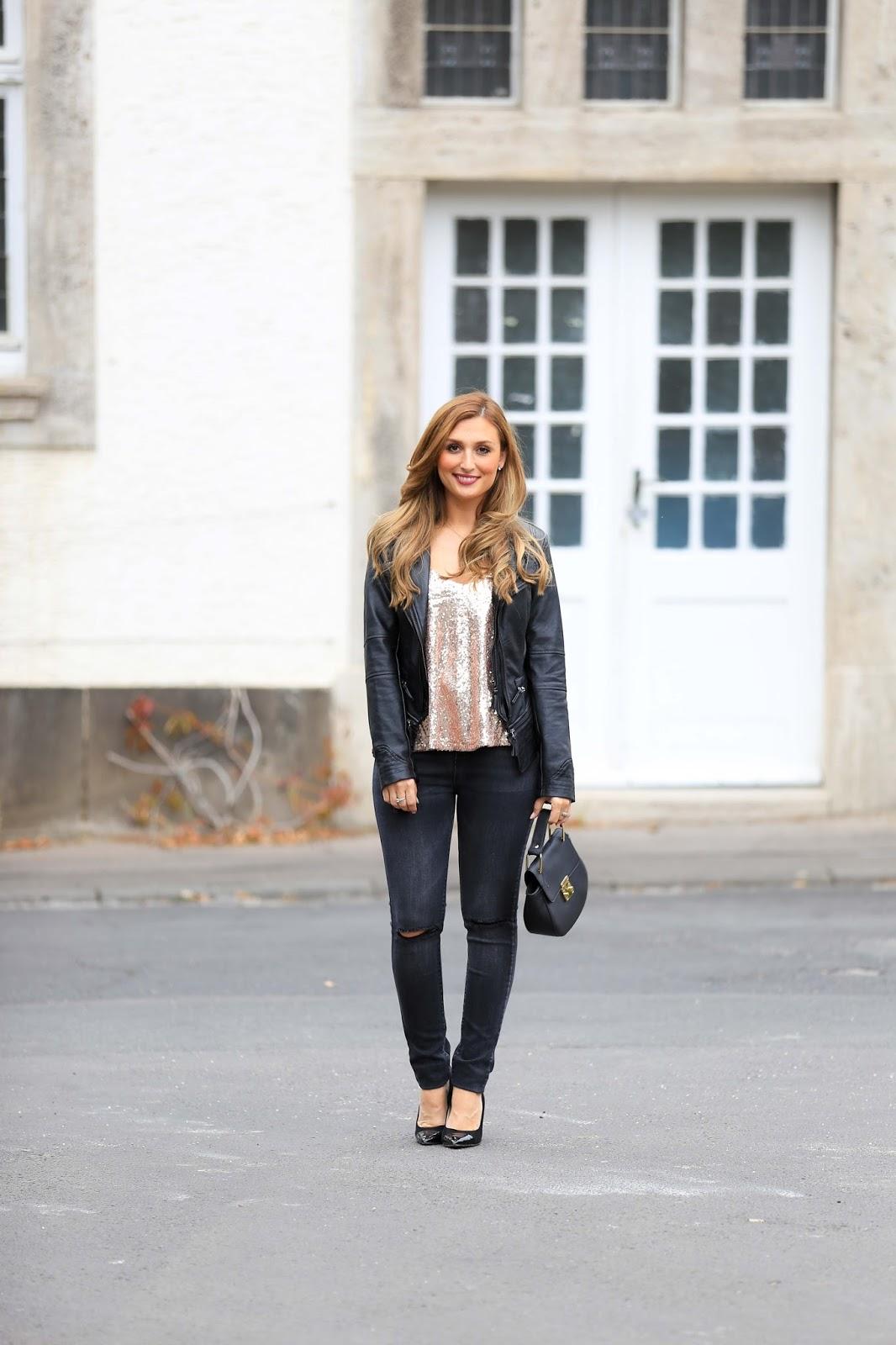 Fashionblogger Lederjacke-Blogger in Lederjacke-Fashionstylebyjohanna-Blogger aus Deutschland