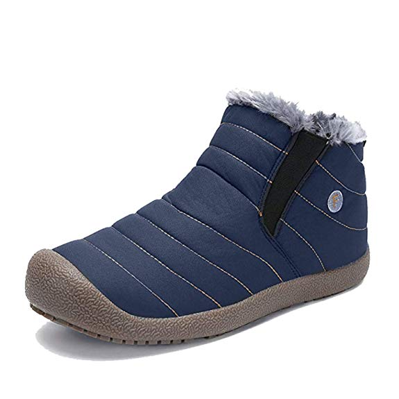 Girls Mother & Kids Inventive Genuine Leather Child Slip-resistant Female Snow Boots Child Boots Male Medium-leg Child Cotton-padded Shoes Soft Outsole Baby