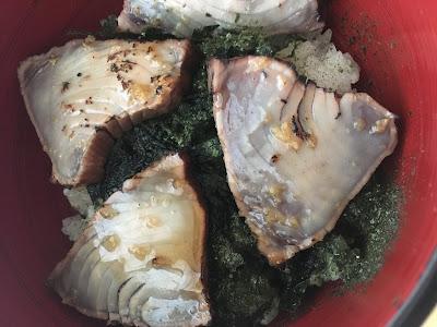 コストコのカツオの炙り丼