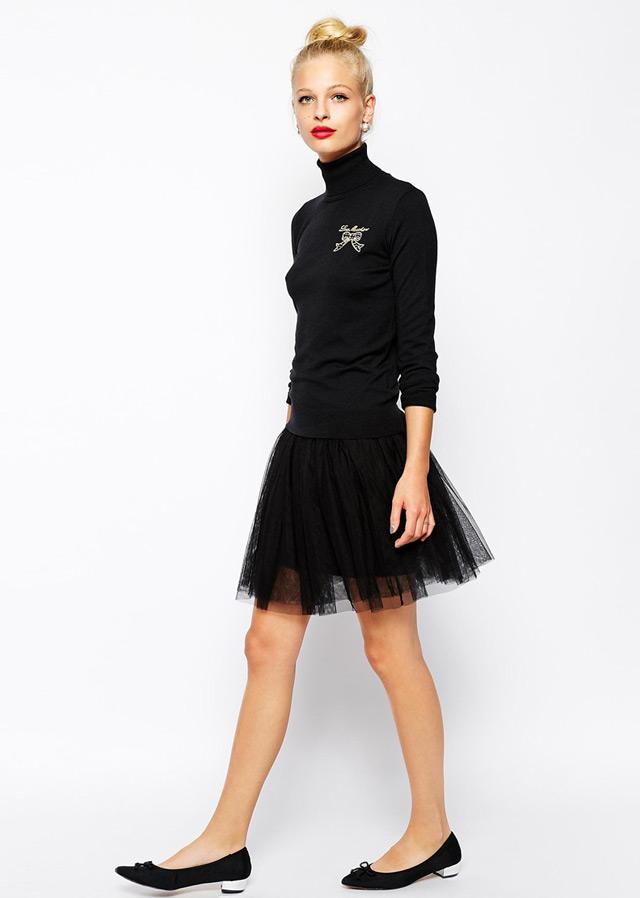 Fall fashion, wearing black, elegant styles women' style trends fashion