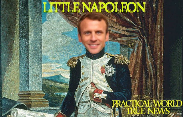 #War,#France : #Macron,as #LittleNapoleon ,Sends Troops and Tanks to Russian Border !