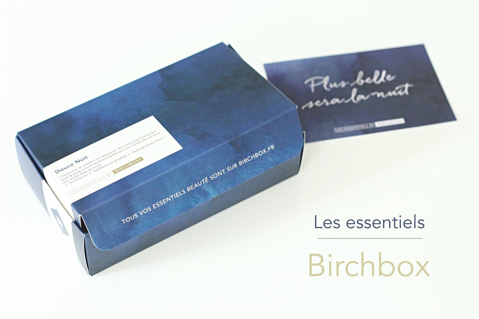les essentiels by birchbox douce nuit
