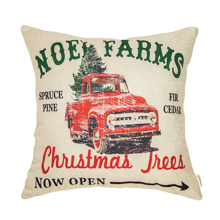 Christmas Tree Farms Pillow