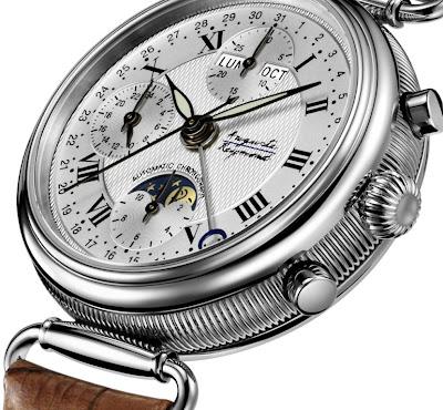 AUGUSTE REYMOND Jazz Age Moonphase chronograph watch